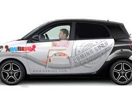 nº 22 pour Design a Car Branding Adverstisement on Smart ForFour par fajar923