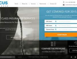 #56 cho Design a Website Mockup for an insurance broking company bởi AustralDesign