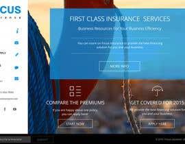 #57 cho Design a Website Mockup for an insurance broking company bởi AustralDesign