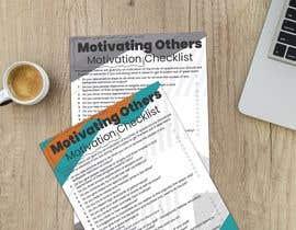 Nro 21 kilpailuun One page checklist design käyttäjältä jesusguzman06