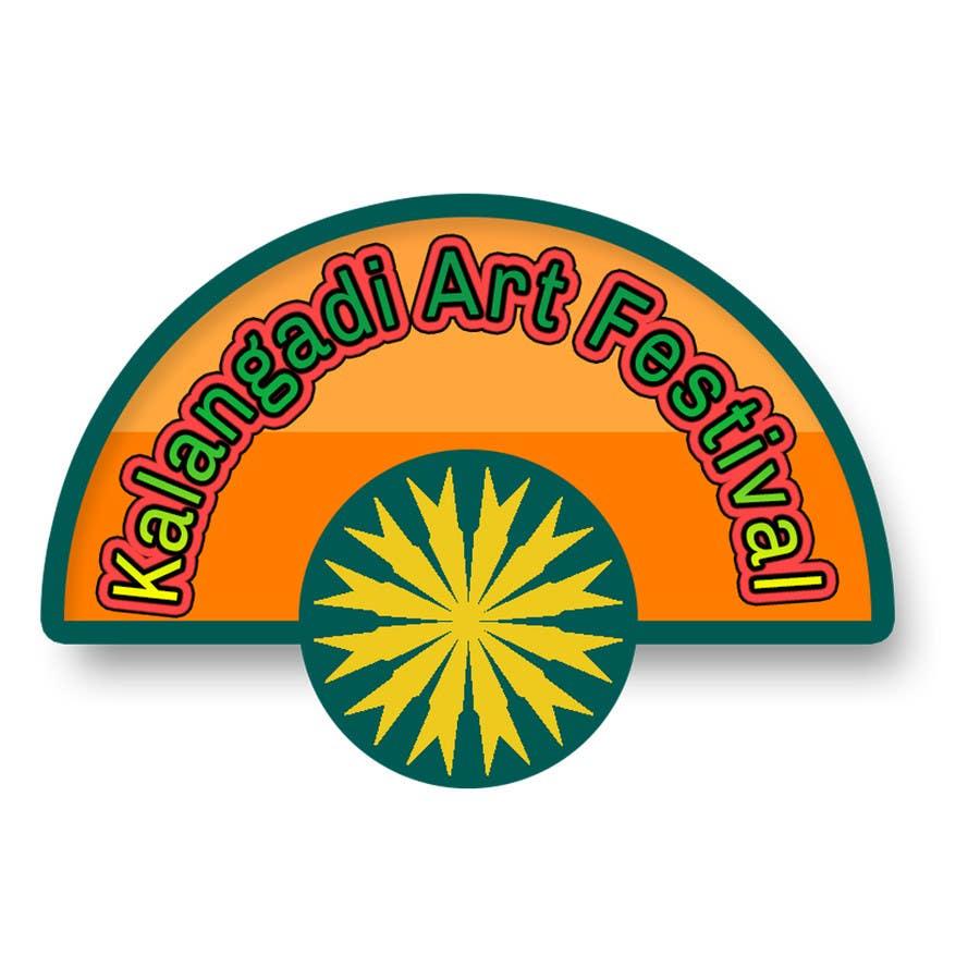 Inscrição nº                                         11                                      do Concurso para                                         Design a Logo for an ART Festival in India