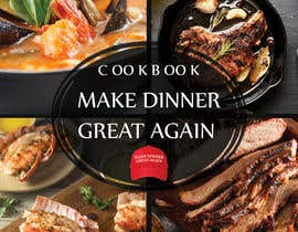 #58 for Make Dinner Great Again - Cookbook Cover Contest by ValexDesign