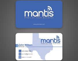#1260 para Mantis business card design de rahnumarah476