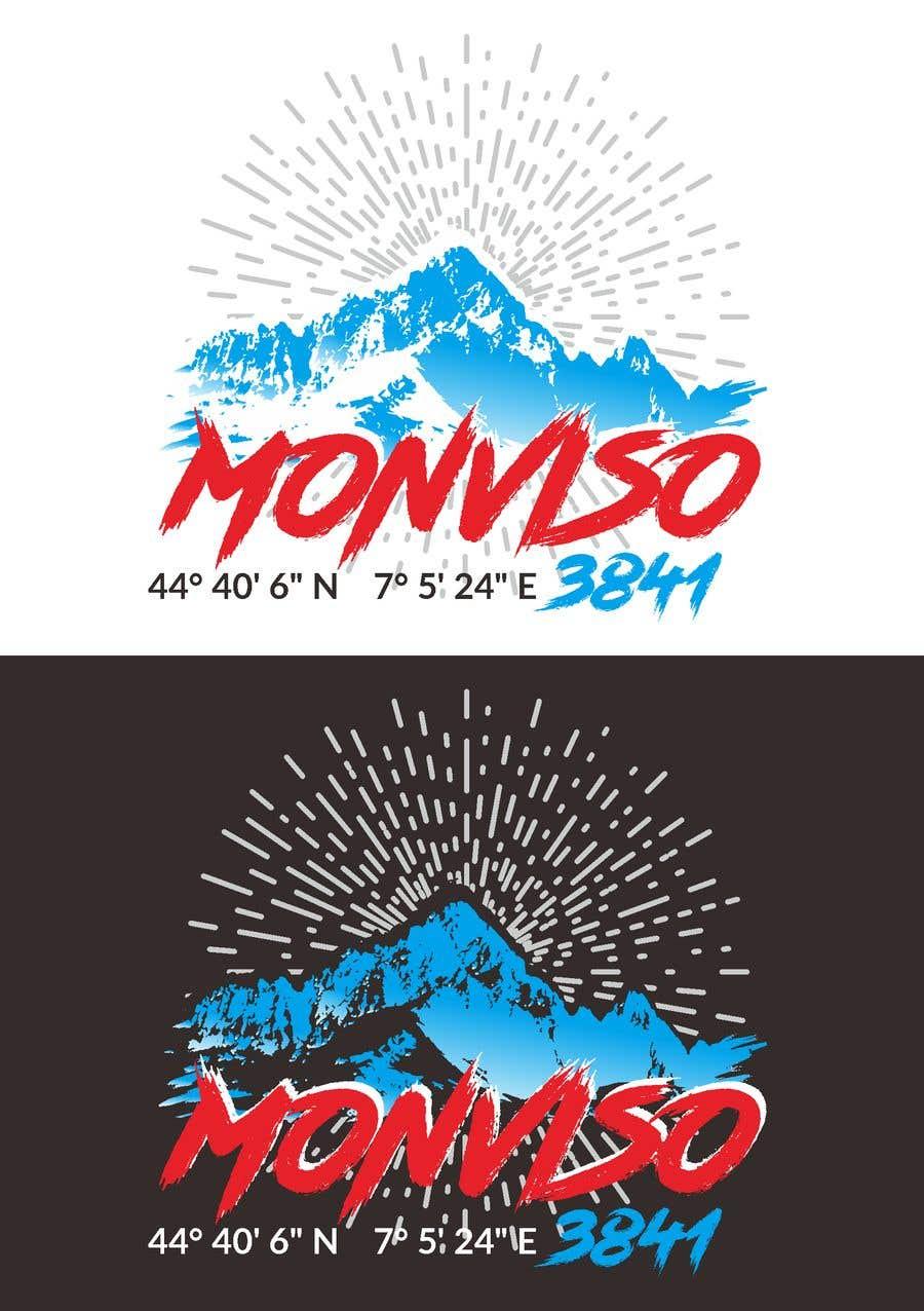 Penyertaan Peraduan #48 untuk Design Mountain T-Shirt