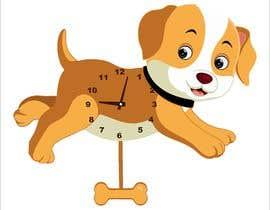 Nro 73 kilpailuun Simple Cartoon clock design käyttäjältä narvekarnetra02