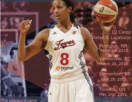 #15 for Design a flyer for a Basketball Tour af ivorilicivorica