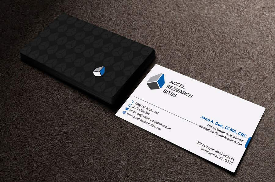 Entry #220 by sabbir2018 for Design a business card template