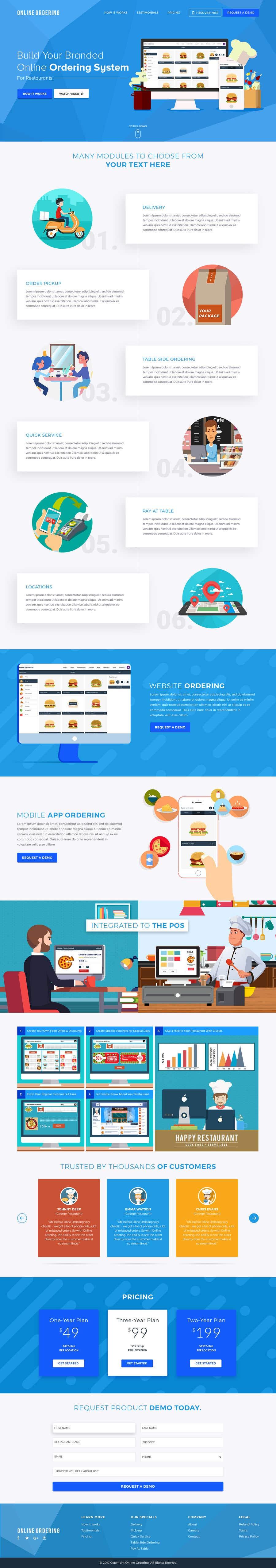 Entry #31 by veletechnosoft for Build a Website for Restaurant