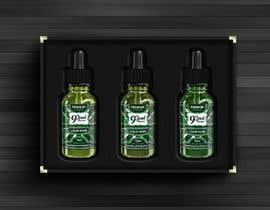 nº 40 pour Design E liquid logo and label par yafimridha