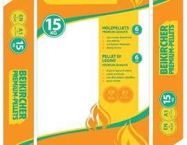 nº 29 pour Improve layout for a bag of wooden pellet par chanzio