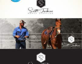"#13 para A logo and Facebook banner. ""Scott Jenkins Horse Starting"" por DCArts101"