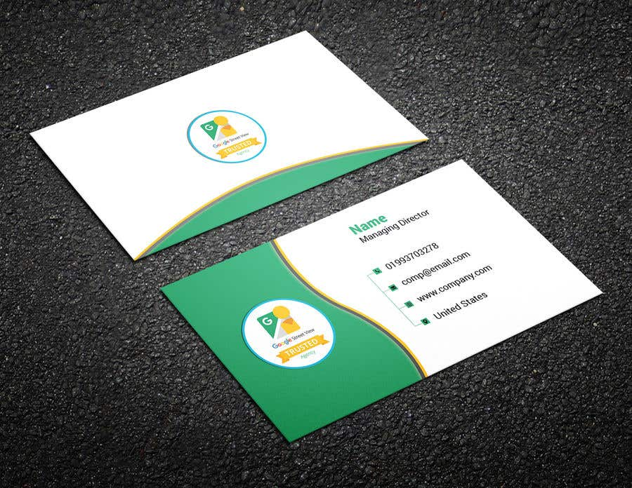 Konkurrenceindlæg #103 for Design some Business Cards For Google Street View Agency