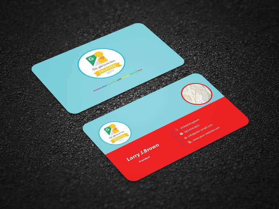 Konkurrenceindlæg #137 for Design some Business Cards For Google Street View Agency