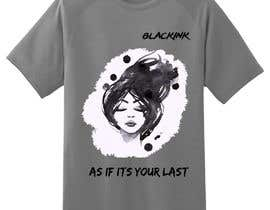 #52 για Blackpink (KPOP) Tshirt Design από gamesbondcat