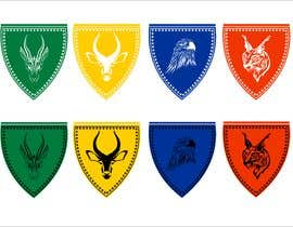 Nro 12 kilpailuun 4 School House Logos. We have Oryx (green), Gazelle (yellow), Falcon (blue) and Caracal (red). See image 1 for more details. Ive attached examples of online images. käyttäjältä narvekarnetra02