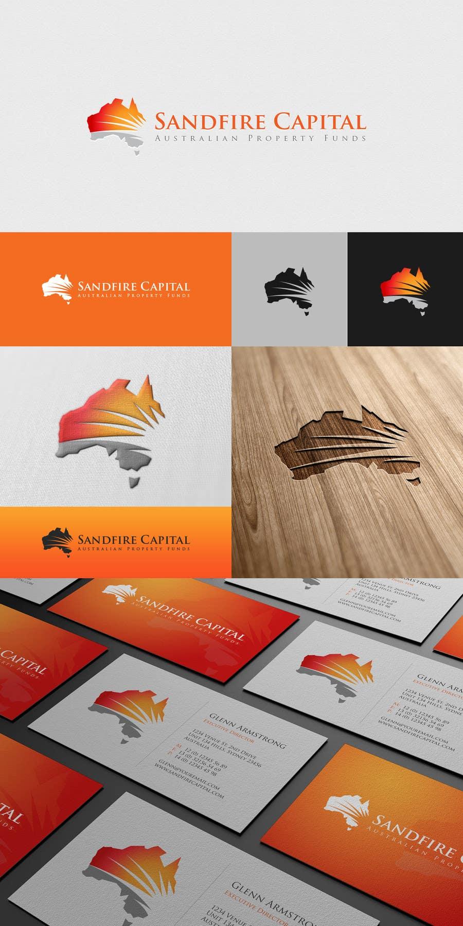 Inscrição nº                                         115                                      do Concurso para                                         Logo Design for Sandfire Capital - Australian Property Funds