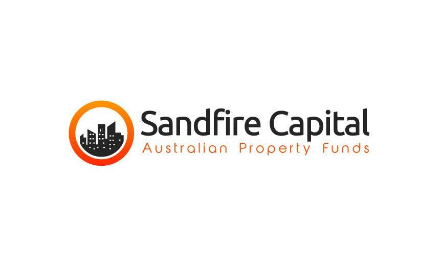Kilpailutyö #                                        20                                      kilpailussa                                         Logo Design for Sandfire Capital - Australian Property Funds