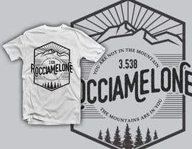 #46 for Design a Mountain T-Shirt with motto af krisamando