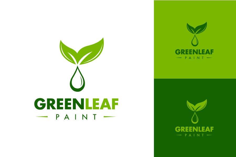 #147 for Logo Design for Green Leaf Paint by BrandCreativ3