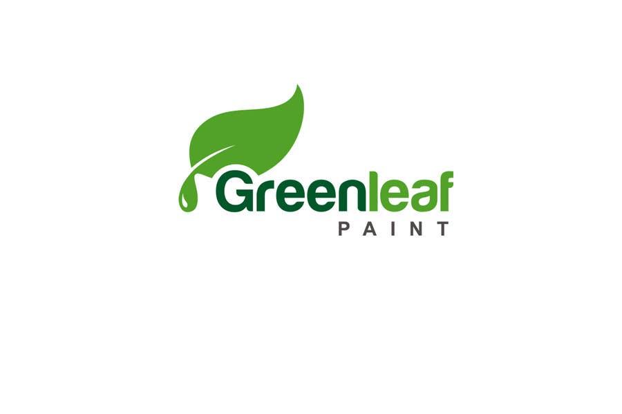 #28 for Logo Design for Green Leaf Paint by smarttaste