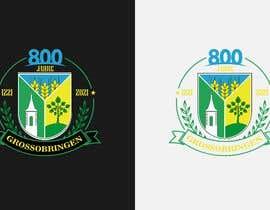 #22 para Design a 800-years anniversary Logo por ZahaDesigns