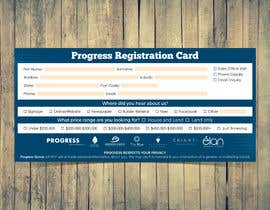 #17 для Design a Registration Card от MooN5729