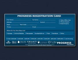 #33 для Design a Registration Card от shoaib786mughal