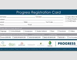 #36 для Design a Registration Card от ferisusanty