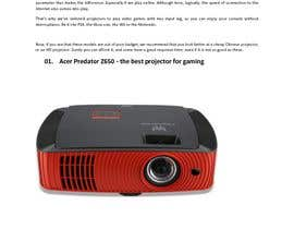 "#1 pёr Write an article titled ""Top 5 Best Gaming Projectors Of 2018"" nga dutaijul"