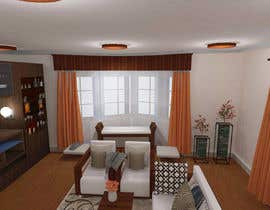 #16 for Interior design living room by Rufeeya