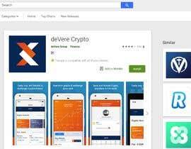 "nº 8 pour Most Downloads & Register using code: AL91GE463 to ""Devere Crypto"" app par sagarjadeja"