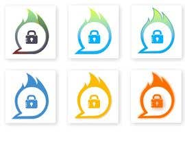 #18 untuk I need a graphic App icon design. It's a High level encrypted communication App. The icon needs to symbolizes communication, self destructive, and encrypted/protected. The second attached picture is show the main colors in the UI design. oleh mcnetwork786