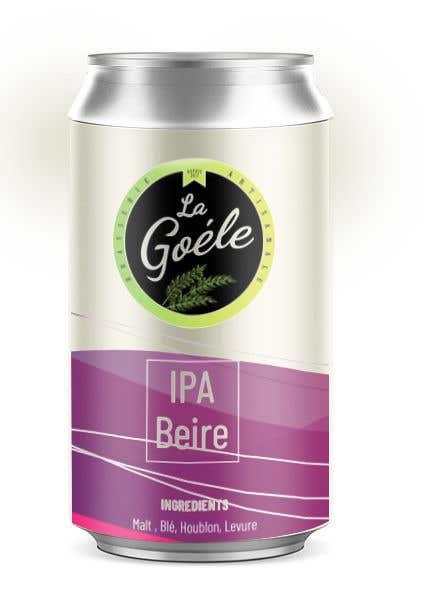 Конкурсная заявка №8 для Artwork for beer Can Label