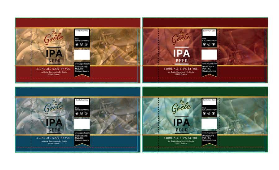 Конкурсная заявка №2 для Artwork for beer Can Label