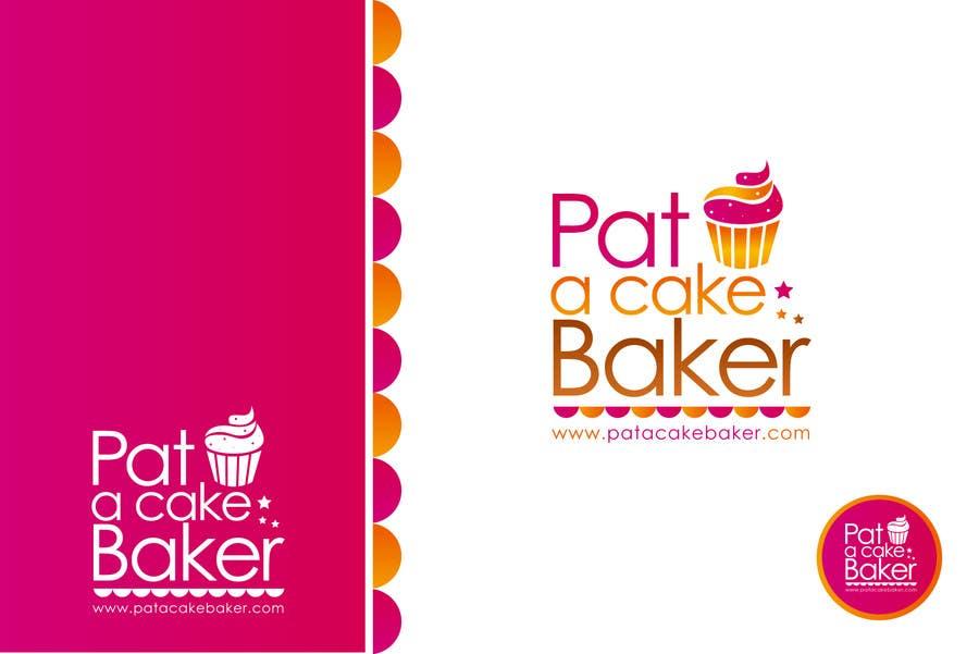 Konkurrenceindlæg #                                        3                                      for                                         Logo Design for Pat a Cake Baker
