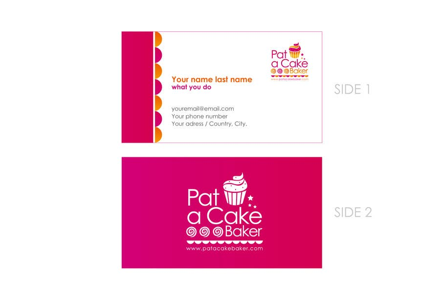 Konkurrenceindlæg #                                        26                                      for                                         Logo Design for Pat a Cake Baker