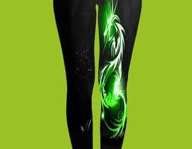 #10 for Graphic design for leggings- Dragon Boat Sport by sahedbabu6251