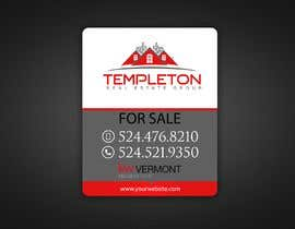 #74 para Real Estate sign design por alaeddine110