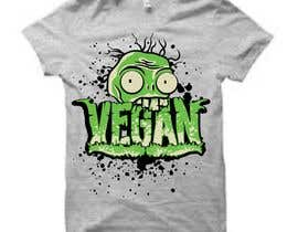 nº 83 pour Vegan T-shirt Designs par elitesniper
