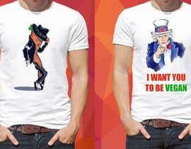 #69 untuk Vegan T-shirt Designs oleh JazFloS