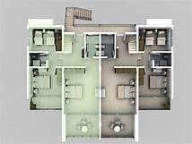 Konkurrenceindlæg #9 for 3d of a duplex house