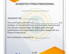 nº 8 pour Design a membership certificate par DhanvirArt