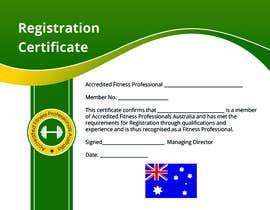 nº 2 pour Design a membership certificate par rizia369