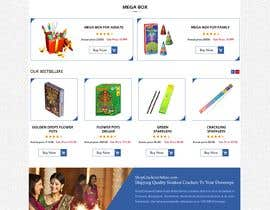 Nro 6 kilpailuun Design a Website for Online Firework sales käyttäjältä webidea12