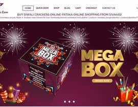 Nro 23 kilpailuun Design a Website for Online Firework sales käyttäjältä fotoexpert