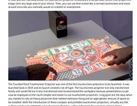 "#7 pentru Write an article titled ""Introduction Of The Touchscreen Projector"" de către asadiqbal1988"