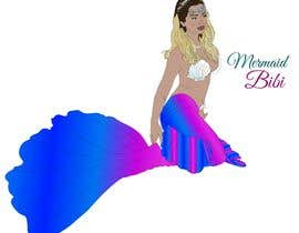 nº 24 pour Create a cartoon version of me as a mermaid par mariacolotin