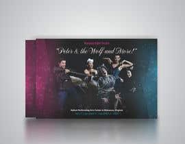 #24 para Design a Flyer for a Ballet show postcard mailer por cristinaDPI