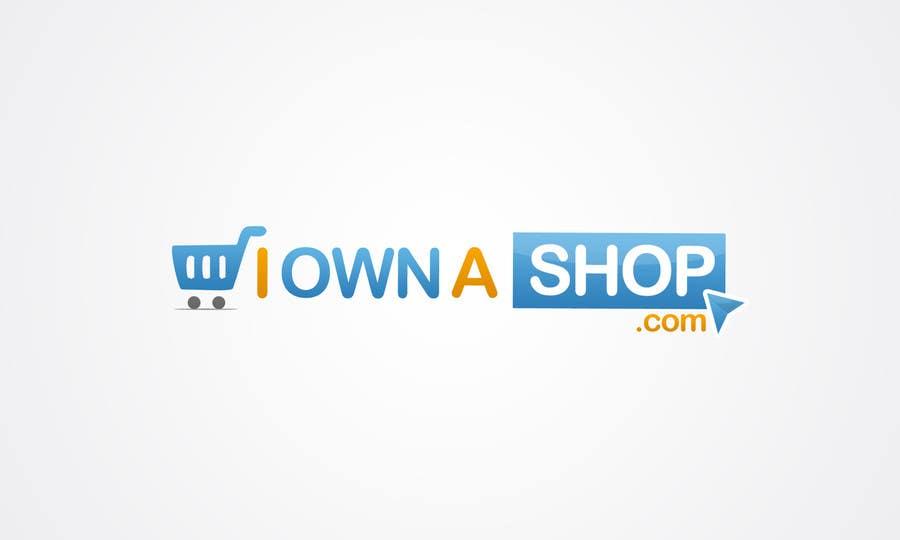 Конкурсная заявка №58 для Logo Design for iownashop (I own a shop) iownashop.com
