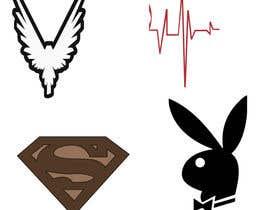 #31 untuk Re- Design/ Trace these 12 Logos oleh KAMRUJJAMAN554